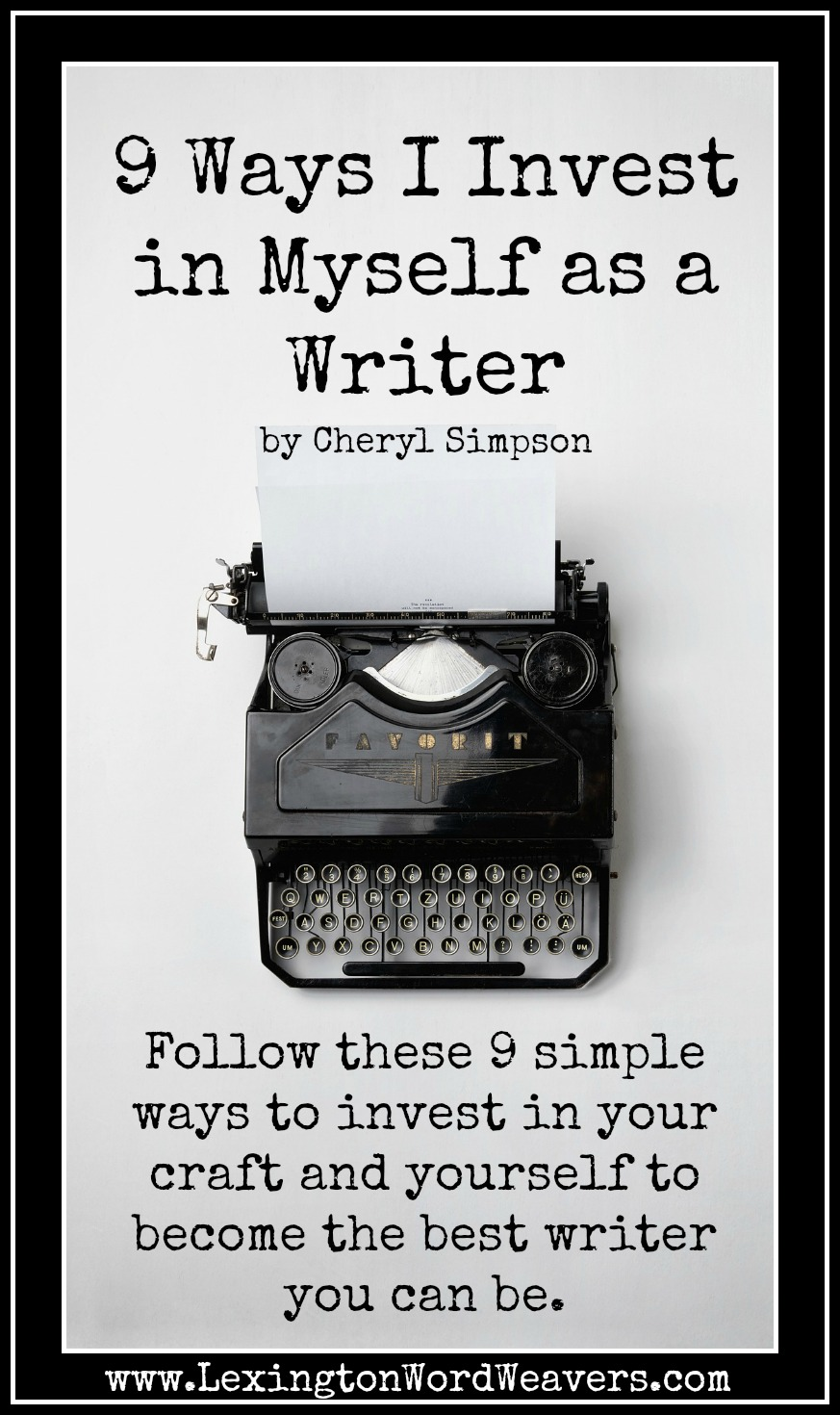 myself as a writer The answer may be as simple as define yourself as a writer, especially if you can get it down to a single sentence how does a writer get started in building a writing platform the answer.
