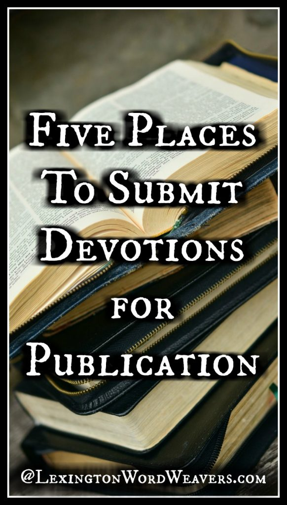 5 Places to Submit Devotions
